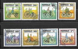 Mongolia 1982 History Of The Bicycle   Used - Mongolie