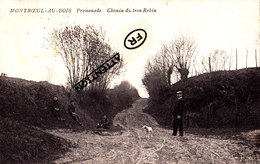 MONTROEUL-AU-BOIS - Promenade - Chemin Du Trou Robin - Frasnes-lez-Anvaing