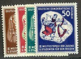 W-9202  Mi.#289-92*  ( Cat.14. € )  Offers Welcome-over 61000 Items! - [6] République Démocratique