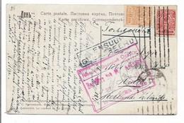 Carte Russie Pour Hulst Hollande - Censure - Censuur Gepasseerd 1917. - 1917-1923 République & République Soviétique