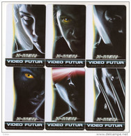 FRANCE LOT 6 CARTES VIDEO FUTUR N° 156 X-MEN TIRAGE 3000 RARE - France