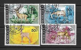 Mongolia 1985 Red Deer Used - Mongolie