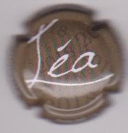 Capsule Champagne CHAURE Jean-Louis ( Nr ; Cuvée LEA , Gris Foncé Ou Marron Et Blanc ) {S50-18} - Champagne