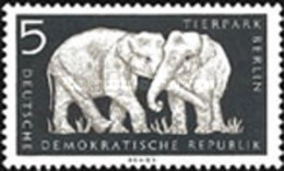 USED STAMPS OF DDR  - Berlin's Zoo -1956 - Oblitérés