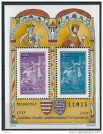 2620 Hungary History Female St Elisabeth Stamp On Stamp Memorial Sheet MNH - Erinnophilie