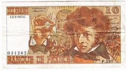 Billet De Banque FRANCAIS - 10 Francs BERLIOZ  C.3-3-1977.C  - P.297 - 1962-1997 ''Francs''