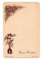 Menu Liqueur Bénédictine Fécamp 40e Série N°5 - Menus