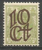 HOLANDA YVERT NUM. 113 ** NUEVO SIN FIJASELLOS - Period 1891-1948 (Wilhelmina)