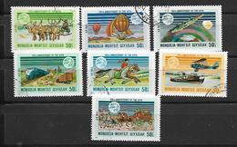 Mongolia  1974 Airmail - The 100th Anniversary Of U.P.U. Used - Mongolie