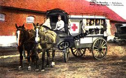 Camp De BEVERLOO - Ambulance (attelage) - Carte Colorée Et Voyagée En 1938 - Hasselt