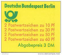 BERLIN Markenheftchen MH 12 A OZ, Postfrisch **, Burgen Und Schlösser 1980 - Berlin (West)