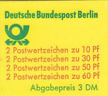 BERLIN Markenheftchen MH 12 B OZ, Postfrisch **, Burgen Und Schlösser 1980 - Berlin (West)