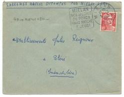 ENVELOPPE MARIANNE DE GANDON / MIELAN 1950 - 1921-1960: Periodo Moderno
