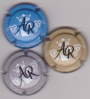 Capsule Champagne ROUX Alain ( 3 ; Série De 3 Capsules ) 9€ {S50-18} - Champagne