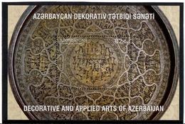 Azerbaijan. 2017 Decorative And Applied Arts. Plate. S /S: 0.2  Michel # BL194 (1313) - Azerbaïjan