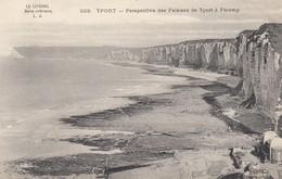 Seine-Maritime - Yport - Perspective Des Falaises De Yport à Fécamp - Yport