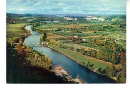 C.P.M.  DOMME - La Vallée  De La Dordogne  Vue De La Barre - France