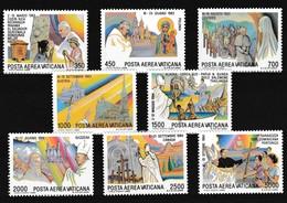 Vatikaan 1986 Luchtpost Nr 75/82 **, Zeer Mooi Lot Krt 4053 - Poste Aérienne