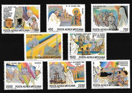 Vatikaan 1986 Luchtpost Nr 75/82 **, Zeer Mooi Lot Krt 4054 - Timbres