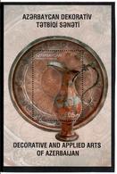 Azerbaijan. 2017 Decorative And Applied Arts. Jar.  S/ S: 0.5 Michel # BL195 (1314) - Azerbaïjan