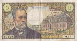 5 F Pasteur - 1962-1997 ''Francs''