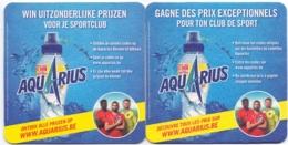 #D230-026 Viltje Aquarius (Coca-Cola) - Sous-bocks