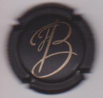 Capsule Champagne BREUL J. ( 2 ; Noir Mat Et Or ) {S50-18} - Champagne
