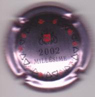 Capsule Champagne MATHELIN ( 8a ; Rosé Et Noir , Millésime 2002 ) {S50-18} - Champagne