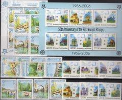 Notre-Dame EUROPA Laos 1973/8,Block 194,Bosnia 339/2,ZD,VB+Bl.13 ** 98€ Hoja M/s Blocs Se-tenants Ss Bf Topics CEPT - Emissions Communes