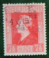 7 1/2 Ct Bevrijdingszegel NVPH 432 (Mi 432) 1944-1946 Gestempeld / Used NEDERLAND / NIEDERLAND - Period 1891-1948 (Wilhelmina)