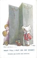 """Illustrateur Fred SPURGIN - """" Attendez Que J'enfile Mon Uniforme """" Wait Till I Put On My KhakI ! - N° 1003 - Spurgin, Fred"""