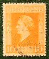 10 Ct Bevrijdingszegel NVPH 433 (Mi 433) 1944-1946 Gestempeld / Used NEDERLAND / NIEDERLAND - Period 1891-1948 (Wilhelmina)