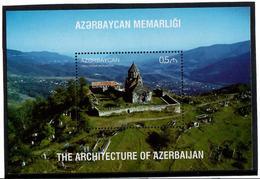 Azerbaijan. 2017 Architecture. Monastery. S/ S: 0.5  Michel # BL191 (1266) - Azerbaïjan