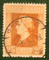 READ 50 Ct Bevrijdingszegel NVPH 439 (Mi 439) 1944-1946 Gestempeld / Used NEDERLAND / NIEDERLAND - Period 1891-1948 (Wilhelmina)