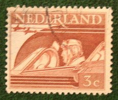 READ 3 Ct Bevrijdingszegel NVPH 430 (Mi 430) 1944-1946 Gestempeld / Used NEDERLAND / NIEDERLAND - Period 1891-1948 (Wilhelmina)