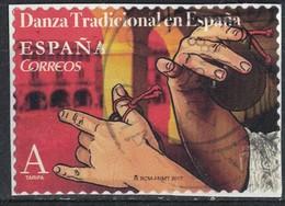 Espagne 2017 Oblitéré Used Danza Tradicional Danse Traditionnelle Castagnettes SU - 1931-Oggi: 2. Rep. - ... Juan Carlos I
