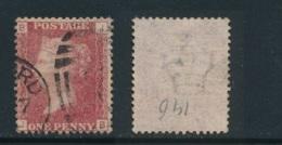 GB, 1 Penny Red Plate 146 Fine Used SG43, Cat £7 - 1840-1901 (Regina Victoria)