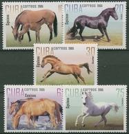 Kuba 2005 Pferde: Gelderländer, Lipizzaner, Araber 4735/39 Postfrisch - Kuba