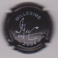 Capsule Champagne DE CARLINI ( Nr ; Millésime 2004 Noir Et Blanc ) {S50-18} - Champagne