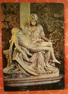 La Pietà Michelangelo Statua Cartolina 1970 - Sculture