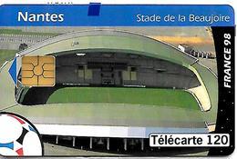 CARTE-n-PUCE-PUBLIC-F878-120U-GEM2-NANTES STADE De La BEAUJOIRE-NSB-TBE - France