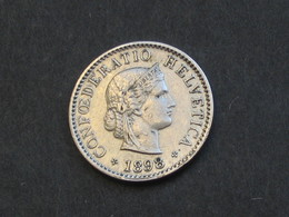 SUISSE  - 5 Centimes 1898    *** ACHAT IMMEDIAT *** - Suisse