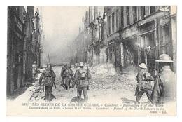 (22588-59) Cambrai - Patrouilles Lancer Dans La Ville - Cambrai