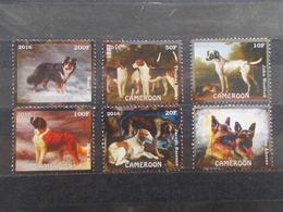 FAUNA - CAMERUN - DOGS - FULL SERIES - CLEAN - MNH. 2 - Camerun (1960-...)