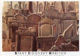 STARY ZIDOVSKY HRBITOV-OLD JEWISH CEMETERY OF PRAGUE - Giudaismo