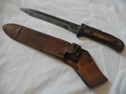 Baïonnette Tchèque VZ58 Pour AK , Bayonet - Armes Blanches