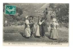 Types D'Auvergne - La Bourrée - 5881 - Danses