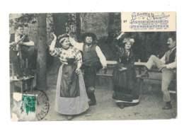 La Bourreio D'Aubergno - 5883 - Danses