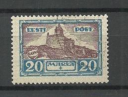 Estland Estonia 1927 Michel 66 O - Estonie