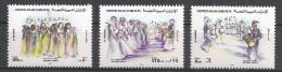 Emirats Arabes - 1995 - Série Danses Folkloriques  - Y&T #450 To 452 -  MNH * * * - Emirats Arabes Unis